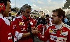 Maurizio Arrivabene, Sebastian Vettel