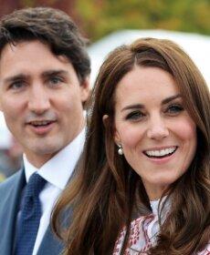 Hertsoginna Kate ja Kanada peaminister Justin Trudeau