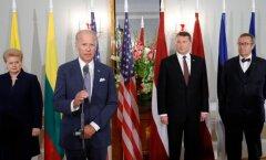 DELFI FOTOD: USA asepresident kinnitas kohtumisel riigipeadega USA pühendumust Balti riikide kaitsmisel