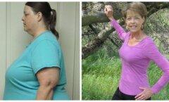 Tõeline eeskuju: naine, kes kaotas enam kui 100 kilo ja seda 60ndates eluaastates