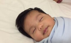 VIDEO: Kuidas panna laps magama vähem kui 1 minutiga