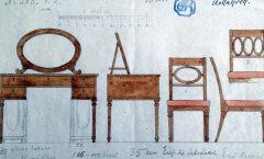 NÄITUS: Anna von Maydelli mööblikavandid Atelier für Kunstgewerbe'le