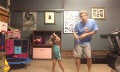 Reedene NUNNUVIDEO: isa ja tütar tantsivad nii, nagu homset ei olekski!
