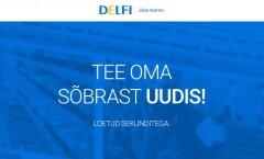 Delfi imagokampaania kevad 2015 – Integreeritud digitaalkampaania