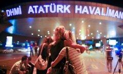APTOPIX Turkey Airport Blasts