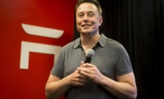 Tesla juht Elon Musk.