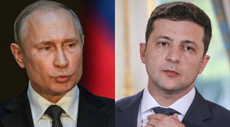 Ukraina president Zelenskõi rääkis esimest korda telefoni teel Putiniga