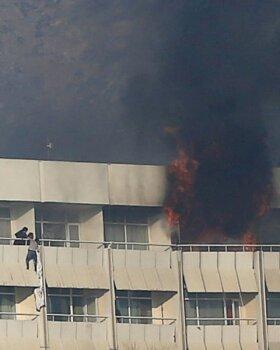 Afgaanid tegid hotellirünnakule lõpu, viis inimest hukkus, 160 päästeti
