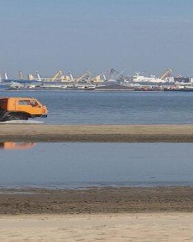 LUGEJA VIDEO | Kahtlane kallur kümbles Stroomi rannas