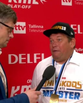DELFI VIDEO | Kalev/Cramo president lubas, et medal saadetakse ka klubist tüliga lahkunud Tony Wrotenile