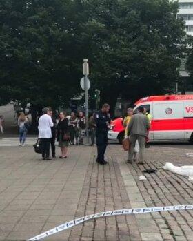 VIDEO | Soomes Turus pussitas mees vähemalt kaheksat inimest