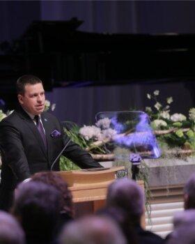 FOTOD ja VIDEO   Peaminister Jüri Ratas Eesti Vabariigi juubelikõnes: meie riigi julgeolekuolukord on kindel