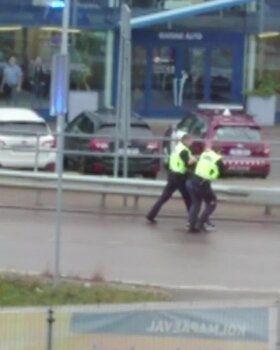 Politsei eest põgenenud juht põhjustas Järvevana teel avarii