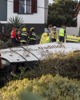 PORTUGAL BUS ACCIDENT MADEIRA