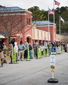 Valimisjärjekorrad Atlantas