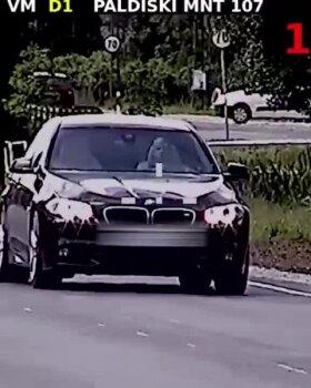 VIDEO | Autojuht ületas meeletult kiirust, et mehaanik kuuleks rattalaagri häält