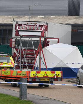 VIDEO   Inglismaal leiti veokist 39 laipa