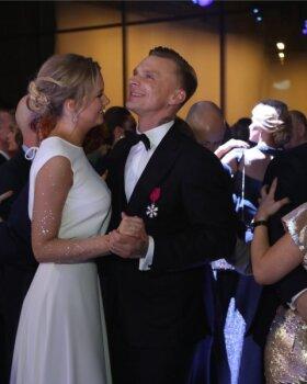 VIDEO   Romantiline hetk tantsupõrandal: Tanel Padar suudles oma verinoort kallimat