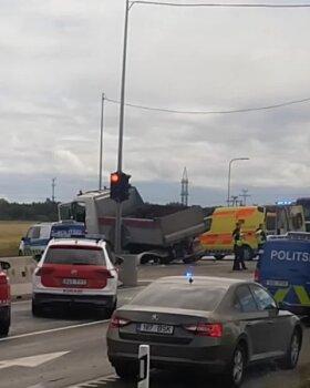 Päev liikluses: vigastada sai viis inimest