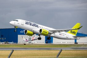 Air Baltic annab Baltimaade lennunduses tooni.
