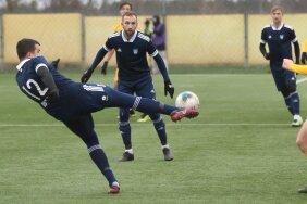 Foto eelmise aasta FC Kuressaare - Maardu Linnameeskonna mängult.