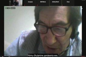 """ВИДЕО   Март Хельме и активист Тыдыяков обсуждают """"еврейский вопрос"""""""