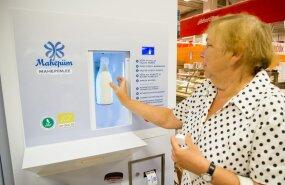 FOTOD: Selveri piimaautomaadid lüpsavad välja mahepiima