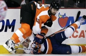 New York Islanders - Philadelphia Flyers, NHL, jäähoki