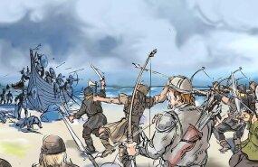 Skandinaavlased said Saaremaal suures lahingus tappa