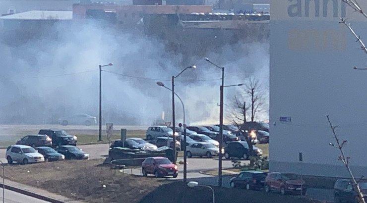 МЧС: возгорание на ж/д станции в Хабаровском крае потушен