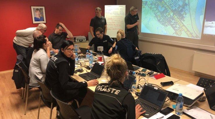 Pärnu: tormituuled ja üleujutus on meile tublisti tööd...