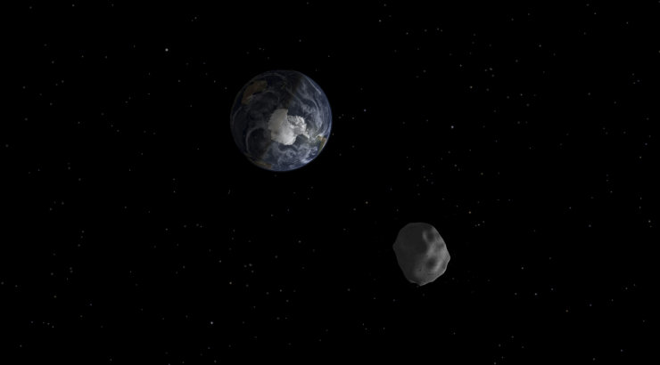 Maast möödus ülilähedalt asteroid, NASA oli teadmatuses