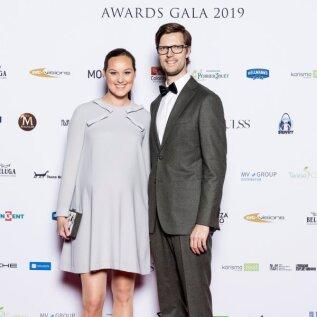 Piret Ilves ja Kennet Sarv Silverspoon 2019 auhinnagalal