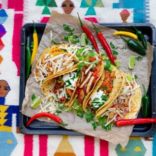 Nädalavahetuse peremenüü | Värske ja värviline Mehhiko köök