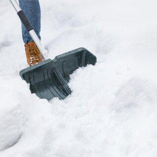 Lumelabidaid võiks olla erineva suurusega eri raskusega lume jaoks.