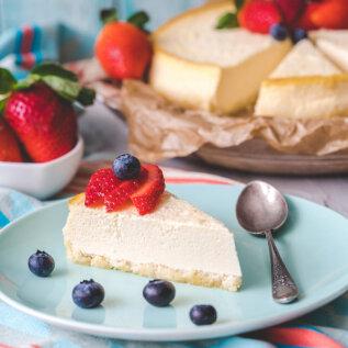 Tervislik küpsetis | Gluteenivaba toorjuustukook, kus pole ka suhkruga liialdatud
