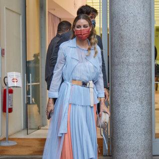 FOTOD   Tervislik moeinspiratsioon Olivia Palermolt ehk kuidas kaitsemaski stiilselt oma riietega sobitada