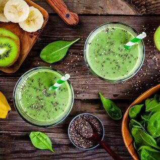 RETSEPTID   Alternatiiv salati söömisele - rohelised smuutid!