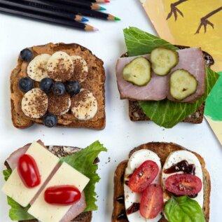 Koolilaps kööki   Tervislikud võileivad ja lihtsad road: need maistvad eined kosutavad koolilast, kui sind kodus pole