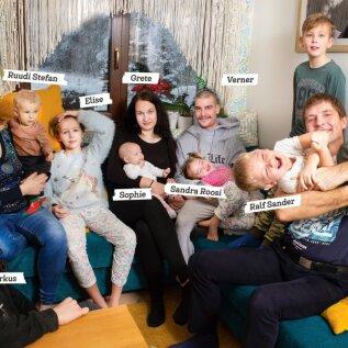 Inspireerivad Eesti lasterikkad pered: kui sul on palju lapsi, saad aru, kui vähe on vaja õnneks