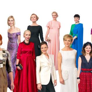 KÕIGE STIILSEMAD   100 külalist, kes on presidendi vastuvõtul kandnud Eesti moekunsti parimaid näiteid