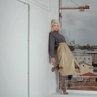 FOTOD | Inga Vatsk-Laasner toob Tallinn Fashion Weeki lavale vintage kangad Eestist ja välismaalt
