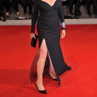 Susan Sarandoni (73) imponeerivad väljalõiked Veneetsia filmifestivalil 2017. aastal.