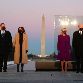 FOTOD | Jill Bideni ja Kamala Harrise rõivad vihjavad, milliseid muutusi on Valges Majas oodata