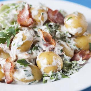 TERVE PERE LEMMIK! Soe värske kartuli ja peekoni salat