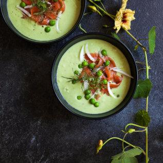 Mida palavate ilmadega süüa? Külma suppi!