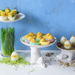 RITA OSA LIHTSAD NIPID: Kuidas kasutada ära värvitud munad, mis on koksimisest üle jäänud? Maailma nunnumad lihavõttemunad, kelmikad munajänesed ja muud tüübid!