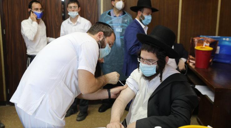 Iisraeli andmetel vaktsiin töötab: 523 000 täielikult vaktsineeritust suri 0 ja põdes raskelt 4 inimest