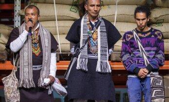 FOTOD: Kolumbia indiaanihõimu liikmed kasvatavad eestlastele kohvi