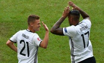 ФОТО и ВИДЕО: Сборная Германии разгромила в 1/8 финала Словакию